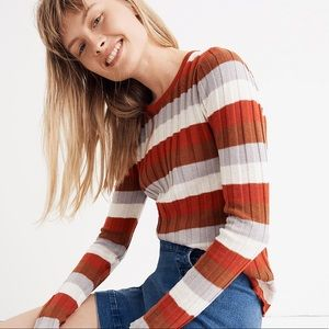 Madewell Clarkwell Pullover sz M ✨